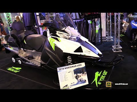 2018 Arctic Cat Norseman 6000 Accessorized Sled - Walkaround - 2017 Toronto Snowmobile ATV Show