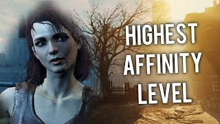 Fallout 4 Cait Highest Affinity Level How to Get Trigger Rush Perk Romance Option