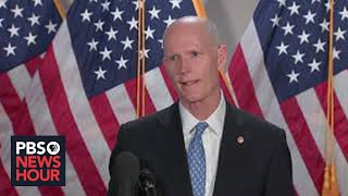 WATCH: Senate GOP leaders hold news conference after party policy luncheon