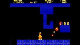 Super Mario Bros. Special PC-8801 Gameplay - NintendoComplete