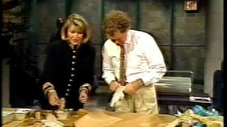 Martha Stewart on David Letterman - Holidays 1989, 1990