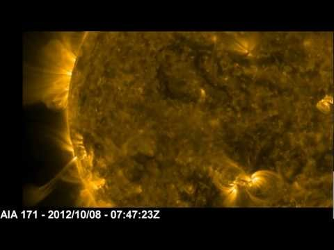 October 08, 2012 | M2.3 Class Flare (HDTV) - Incoming AR