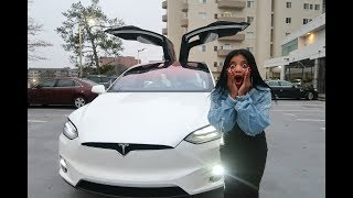 CAN'T BELIEVE OUR TESLA DID THIS | VLOGMAS DAY 22