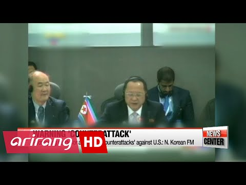 """Pyongyang ready for additional """"counterattacks"""" against U.S. """"provocations"""": N. Korea's FM"""