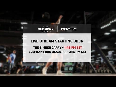 2018 Arnold Strongman Classic | Sat 1:45pm EST