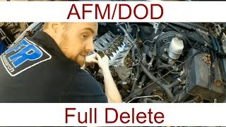 DOD Delete kit using texas speed pt1 afm suburban tahoe...