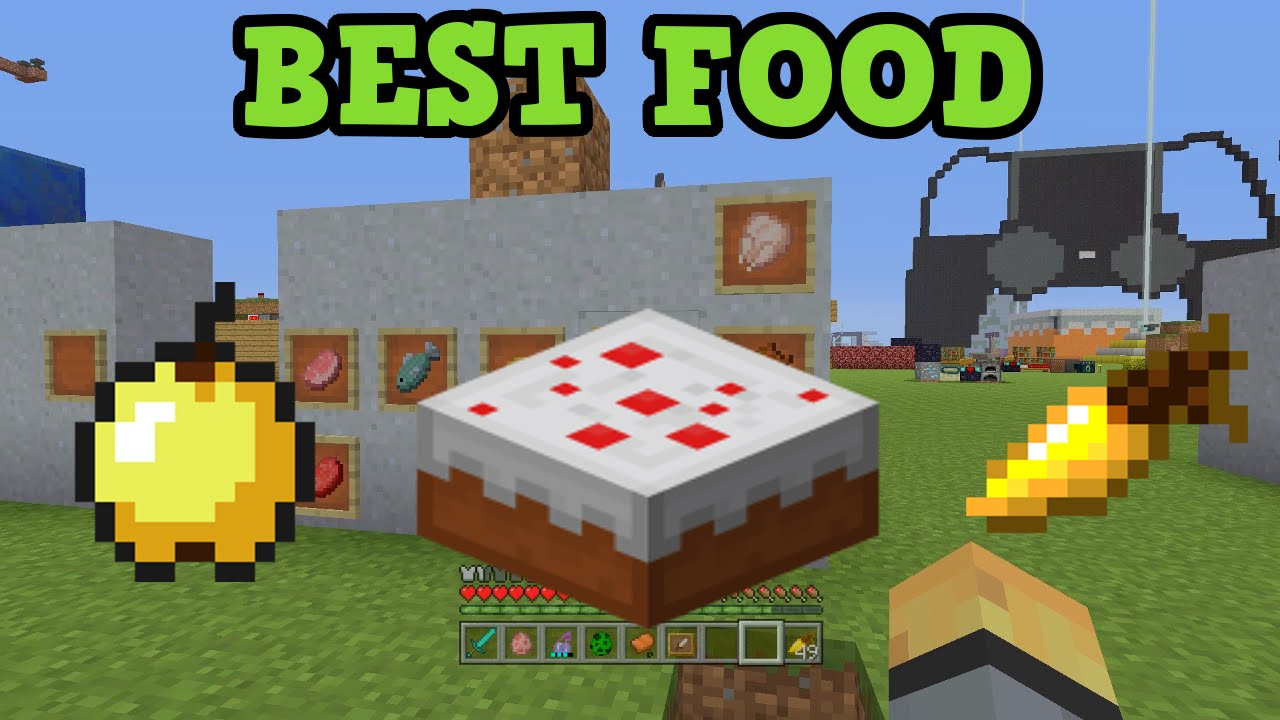 Minecraft Xbox 360 Ps3 Best Food Youtube
