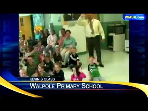 News 9's Kevin Skarupa visits Walpole Primary School