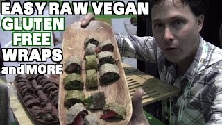 Easy Gluten-free Raw Vegan Wraps & More At Natural Products Expo 2015