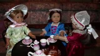 An American Girl Doll Tea Party