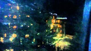 L'Apogée, l'hôtel hyper luxe de Xavier Niel à Courchevel de nuit