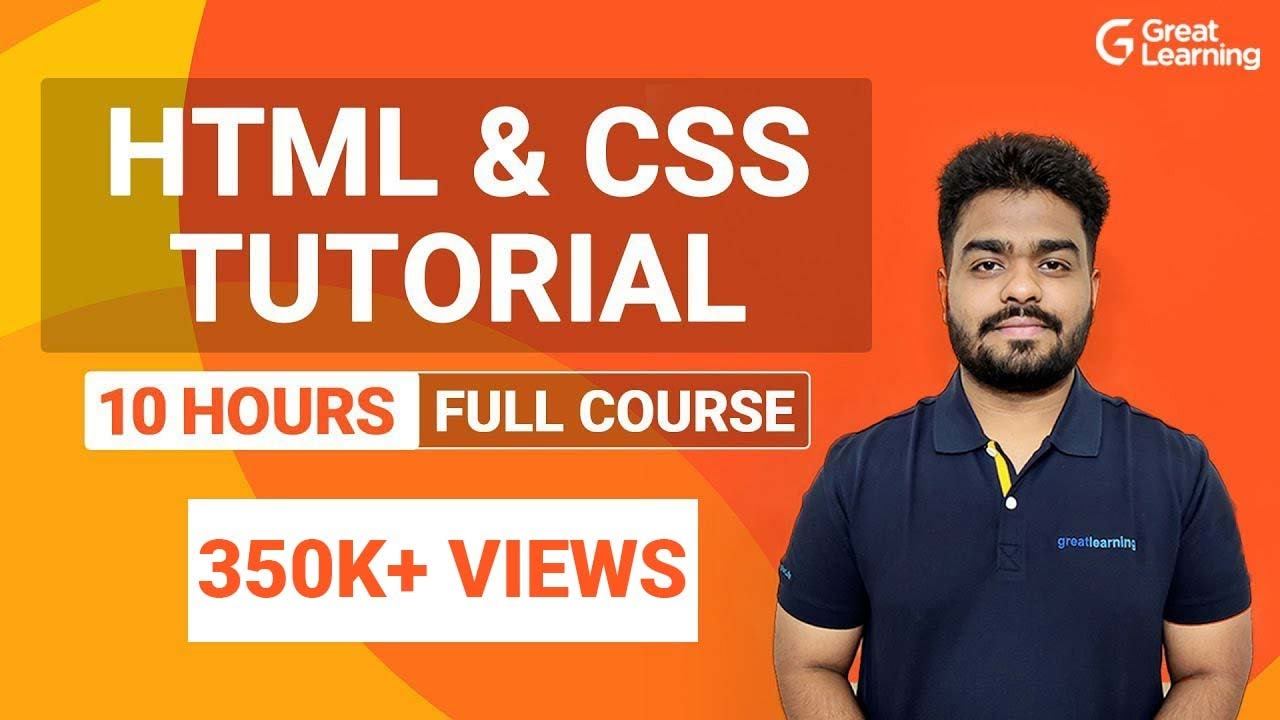 HTML and CSS Full Course   Learn HTML & CSS in 10 Hours   HTML & CSS Tutorial