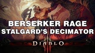 D3 | PATCH 2.0.3 | Berserker Rage | Stalgard