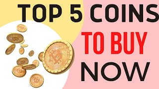TOP 5 Crypto Coins to buy now in September 2021 | Best Cryptocurrency to invest now