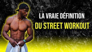 [ DEFINITION ] STREET WORKOUT