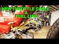 Installing A New Throttle Cable And Fuel Line On A Puch Maxi N Polini Vm18