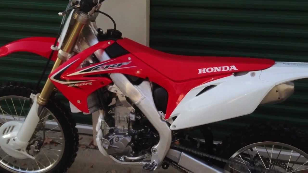 2013 crf250r idle and rev