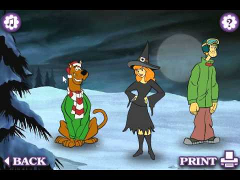 Scooby Do Dress Up Game (Daphne) Boomerang TV - YouTube