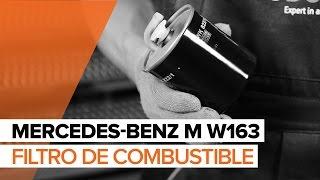 Reparación MERCEDES-BENZ Clase ML de bricolaje - vídeo guía para coche