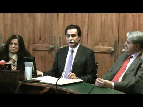 London Meeting on Kashmir issue with All Party Parliamentary Group (APPG)