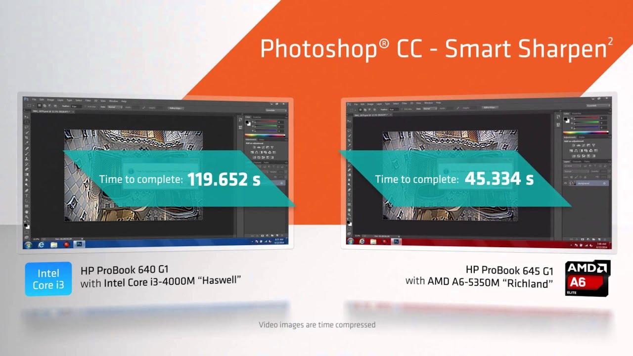 AMD A6 APU against Intel i3 on HP Probook 600 series