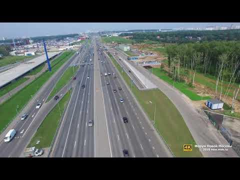 Разворотный тоннель на 23-км Калужского шоссе открыт!