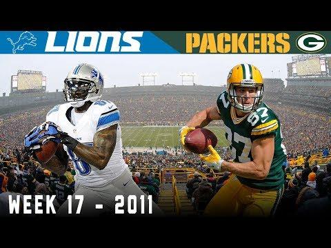 Megatron & Jordy Shootout! (Lions Vs. Packers, 2011) | NFL Vault Highlights