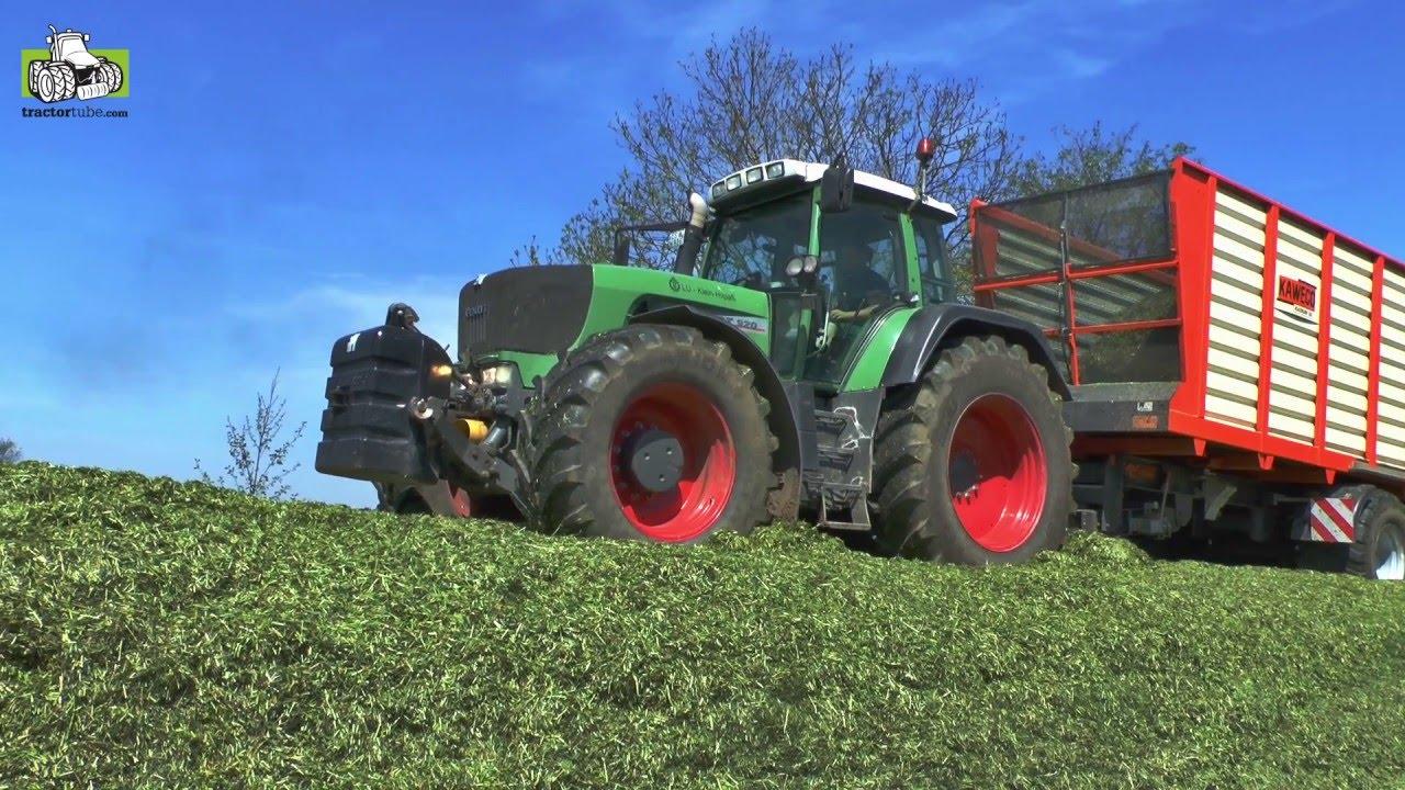 Heel Veel Veehouders En Loonwerkers Al Weer Volgas In Het Gras Trekkerweb Youtube