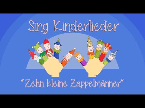 Zehn Kleine Zappelmänner - Kinderlieder Zum Mitsingen | Sing Kinderlieder