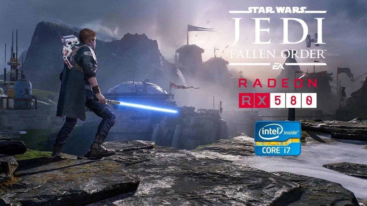 Star Wars Jedi: Fallen Order - RX 580 - i7 3770 - FPS Test