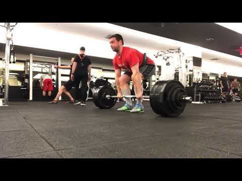 20180314: Deadlift 390 Lbs X 5