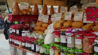 Street Food in Poland. Polish Oscypek w Zakopanem | Уличная еда в Польше. Сыр Осцыпек в Закопане