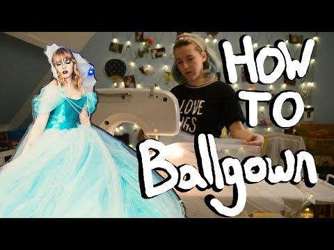 Ballgown making   Progress log #1