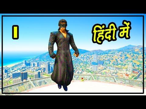 GTA 5 Hindi - Krrish Mod Gameplay - Hitesh KS thumbnail