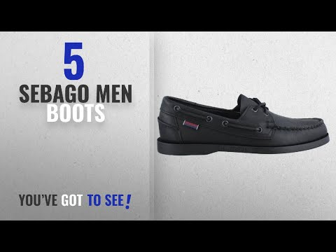 Top 10 Sebago Men Boots [ Winter 2018 ]: 72673 Sebago Men's Dockside Casual Shoes - Black - 9.5\W