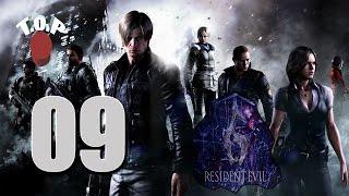 Resident Evil 6 Biohazard Gameplay (Leon) Folge 09 - Zombie Fabrik (Facecam mit JD) Deutsch
