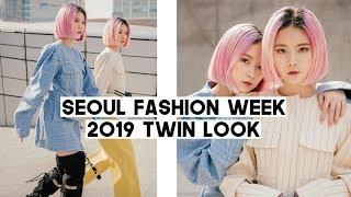 Seoul Fashion Week 2019 Twin Outfits Kye Maxxij Youser Etc Q2han