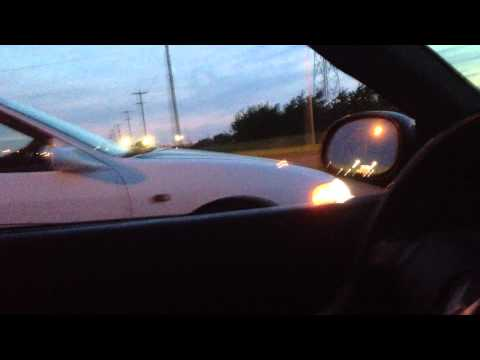 B16a dohc vtec civic vs Integra Type R race