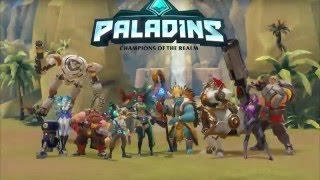 Paladins : Champions of the Realm - All Classes Gameplay