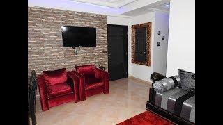 شقة مغربية اصحابها من عشاق اللون الاحمر