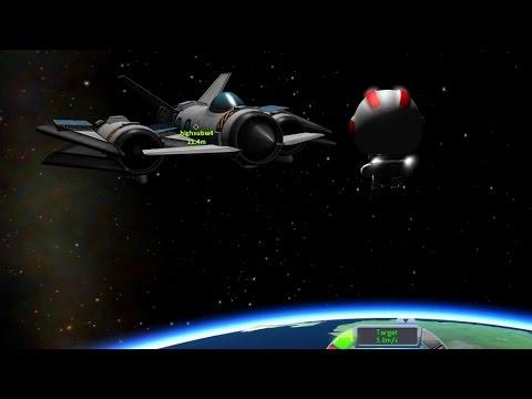 KSP insanity - Suborbital Spacewalk