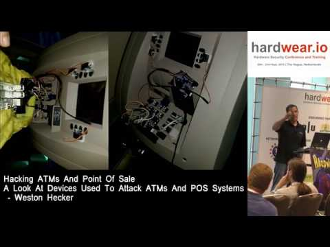Hardwear.io 2016:- Look at devices used to attack ATMs & POS systems by Weston Hecker