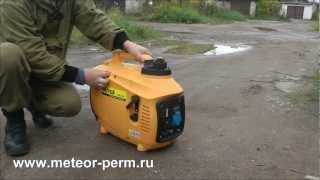 видео Инверторный генератор Huter DN2100