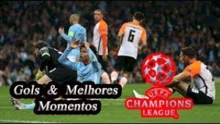 Shakhtar Donetsk vs Manchester City - Liga Dos Campeões - Gols & Melhores Momentos