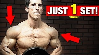 Shoulder Workout in ONE Set (137 INTENSE REPS!!) thumbnail