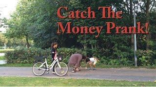 Catch The Money Prank!!