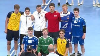Handball Men's 17 European Open 2019. Award Ceremony
