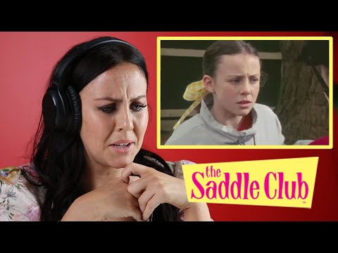 "Lara Jean Marshall Reacts To Iconic ""The Saddle Club"" Scenes"