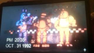 More of real life freddy bonnie Chica and foxy