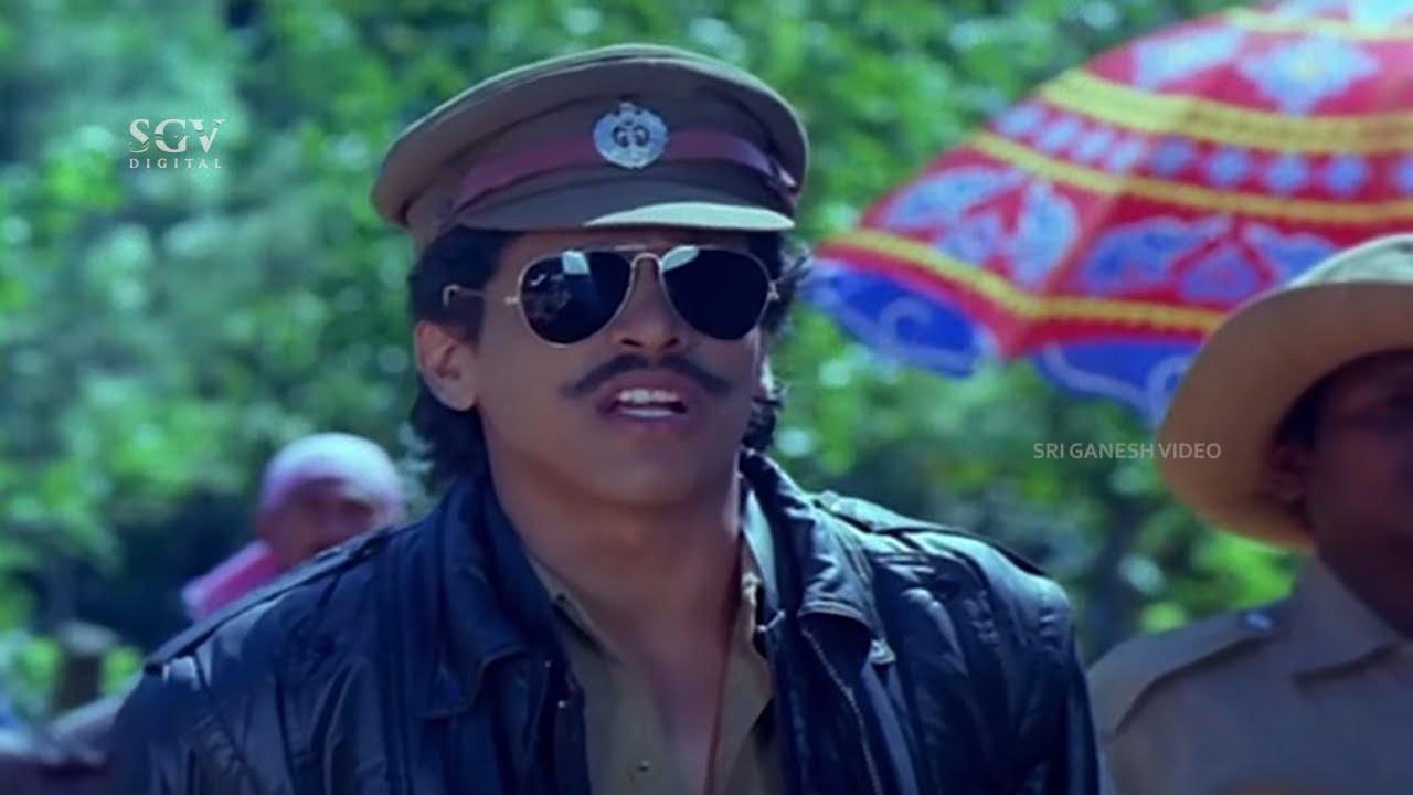 Download Upendra Comes To Arrest Kashinath Comedy Scene | Shhh Kannada Movie | Bank Janardhan, Kumar Govind